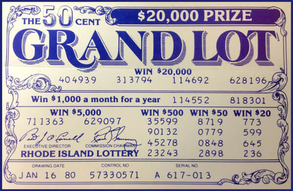 The new Grand Lot game goes on sale with a chance to win $20,000 The super drawing is eliminated in favor of more prize money